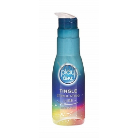 Play Time Tingle Stimulating Lube water-based lubricant 75 ml