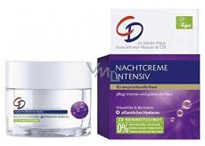 CD Intensiv Wasserlilie - Water Lily & Hyaluronic Acid Night Wrinkle Cream 50 ml