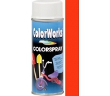 Color Works Colorspray 918504 oranžovo-červený alkydový lak 400 ml