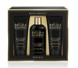 Baylis & Harding Black pepper and Ginseng 2in1 shampoo and shower gel 300 ml + shower gel 200 ml + aftershave balm 200 ml, cosmetic set for men