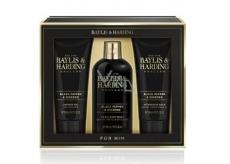Baylis & Harding Black pepper and Ginseng 2in1 shampoo and shower gel 300 ml + shower gel 200 ml + aftershave balm 200 ml, cosmetic set for men