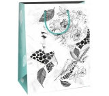Gift Bag Creative 40 White - Lady Rose
