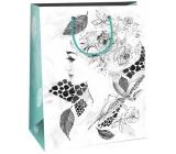Gift Bag Creative 40 White - Lady Rose