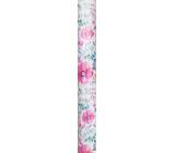 Nekupto Gift wrapping paper 70 x 150 cm Flowers 002