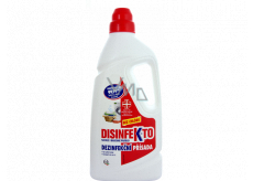Disinfekto Bucato disinfectant for laundry without chlorine 40 doses 1 l