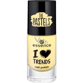 Essence I Love Trends Nail Polish The Pastels nail polish 02 Sun Is Smiling 8 ml