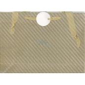 Nekupto Gift paper bag small 12 x 17 cm Silver glitter 036 02 QS