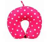 Albi Travel pillow Pink with dots 30 x 28 x 10 cm