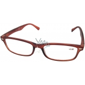 Berkeley Reading glasses +1.5 brown matt 1 piece MC2 ER4040