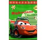 Ditipo Disney Dárková papírová taška pro děti L Cars High-octane Treats 26,4 x 12 x 32,4 cm
