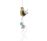 Wooden animal for hanging, length 40 cm hen