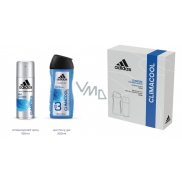 Adidas Climacool antiperspirant deodorant spray for men 150 ml + 3in1 shower gel for body, face and hair 250 ml, cosmetic set