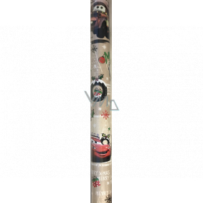 Ditipo Gift wrapping paper 70 x 200 cm Christmas Disney Cars beige