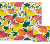 Nekupto Gift wrapping paper 70 x 150 cm Colorful flowers
