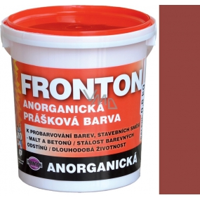 Fronton Inorganic powder paint Chestnut outdoor and indoor use 800 g