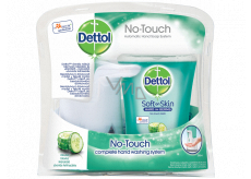 Dettol Freshness of cucumber non-contact soap dispenser, machine + antibacterial refill with soap 250 ml