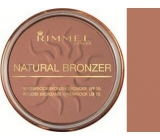 Rimmel London Natural Bronzer Powder 021 Sun Light 14 g