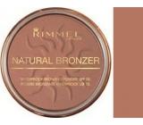 Rimmel London Natural Bronzer Powder 021 Sun Light 14 g