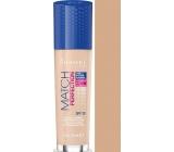 Rimmel London Match Perfection Foundation SPF20 makeup 201 Classic Beige 30 ml