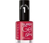 Rimmel London Super Gel by Kate lak na nehty 042 Rock n Roll 12 ml