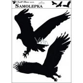 Sticker silhouette birds 42 x 30 cm No.4