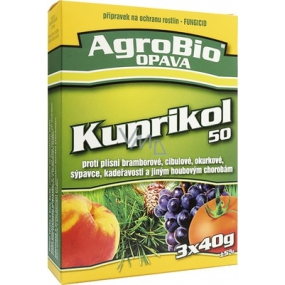 AgroBio Kuprikol 50 plant protection product against fungal diseases 3 x 40 g