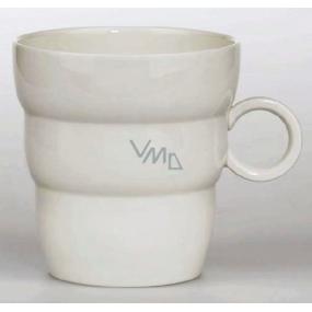 Masaru Emoto Shinno flower Flower of Life mug with a silver symbol of 0.3 l