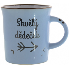 Albi Tin cup ceramic mug with inscription Great grandfather 320 ml