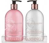 Baylis & Harding Pink Magnolia and Pear Flower Liquid Soap 500 ml + Hand Milk 500 ml, cosmetic set