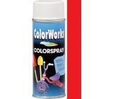 Color Works Colorspray 918505C ohnivě červený alkydový lak 400 ml