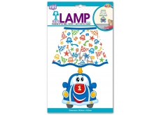 EP line Self-adhesive wall lamp Car 35 x 20 x 3 cm