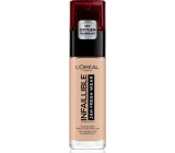 Loreal Paris Infallible 24H Fresh Wear Foundation make-up covers imperfections, does not erase, does not dry the skin 110 Rose Vanilla 30 ml