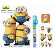Mimoni Disney eau de toilette roll-on for children 9.5 ml + bookmark, stickers with pictures Surprise bag
