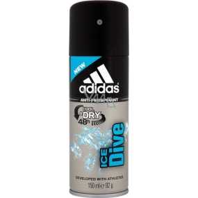 Adidas Cool & Dry 48h Ice Dive antiperspirant deodorant spray for men 150 ml