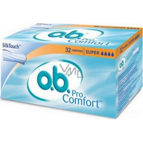 ob For Comfort Super Swabs 32 pieces