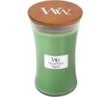 WoodWick Palm leaf - Palmový list vonná svíčka s dřevěným knotem a víčkem sklo velká 609,5 g
