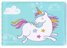 Albi Business card holder, cards Unicorn 9.5 cm x 7 cm