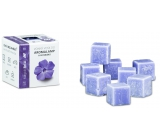 Cossack Magic periwinkle natural scented wax for aroma lamps and interiors 8 cubes 30 g