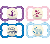 Mam Air Night silicone orthodontic comforter 6+ months various patterns and colors 1 piece