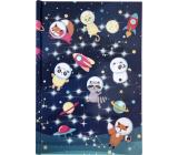 Albi Block luminous lined Animals astronauts 20.9 x 14.6 x 2 cm