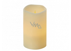 Emos LED candle lit amber, 12.5 x 8 cm