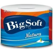 Big Soft Natura toilet paper 1 ply 1000 pieces 1 piece