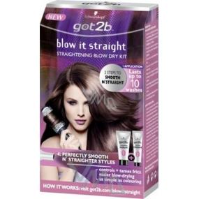 Got2b Blow It Straight hair straightening set 140 ml