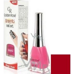 Golden Rose Graffiti Nail Art crackling nail polish shade 23 12 ml