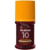 Nubian OF10 Olej na opalování, nízká ochrana 60 ml