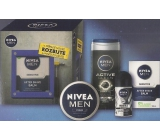 Nivea Men Toolbox Emergency after shave balm 100 ml + cream 150 ml + antiperspirant roll-on 50 ml + shower gel 250 ml, cosmetic set