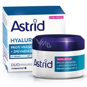 Astrid Hyaluron Plus Ultra Repair OF10 Zpevňující denní krém proti vráskám 50 ml