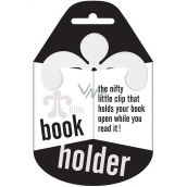 If Little Book Holder Držák na knihu Bílý 75 x 2,5 x 75 mm