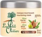 Le Petit Olivier Oliva + Shea Butter + Argan Oil Nourishing Mask for Dry and Damaged Hair 300 ml