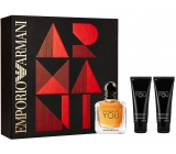 Giorgio Armani Emporio Stronger With You Eau de Toilette 50 ml + 2 x Shower Gel 75 ml, gift set